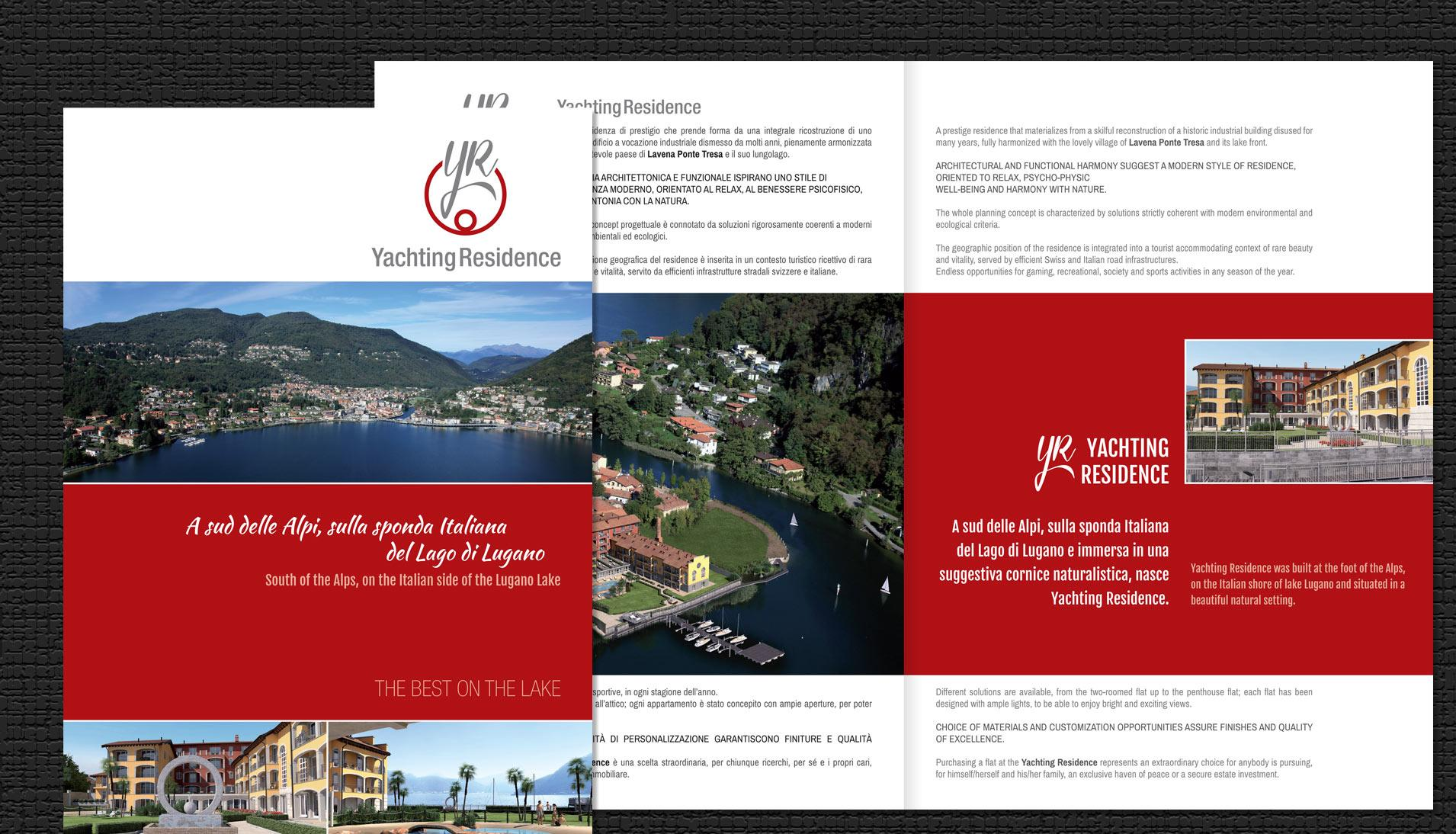 WarningStudioComunicazione yachting residence brochure 01